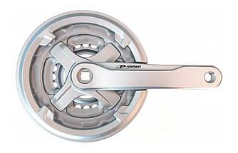 Система шатунов Prowheel TA-CN68 42/34/24T 170 мм Cеребристая