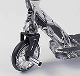 Самокат трюковый 93215 Best Scooter HIC-система, ПЕГИ, алюминиевый диск и дека, колёса PU, d=110мм, фото 3