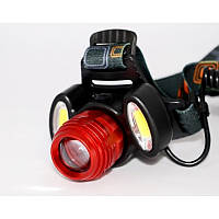 Ліхтар налобний WD - 298 світлодіодний акумуляторний