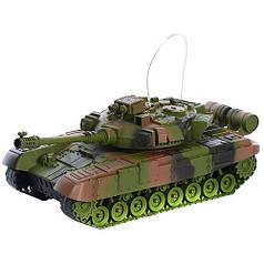 Боевой детский танк на пульте радиоуправлении зелёный Tank