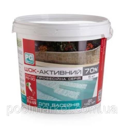 Хлор шок-активный 70% в гранулах Clorocal 5кг BARCHEMICALS, Италия