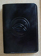 Бумажник кожаный c Рыбкой