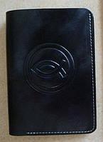 Бумажник кожаный c Рыбкой, фото 1