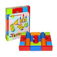 """Кубики """"Теремок"""" (19 элементов) M-toys (08071)"""