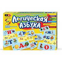 Настольная игра Логическая азбука рус Dankotoys (DT66Asp)