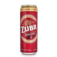 Пиво Zubr Grand 0.55л