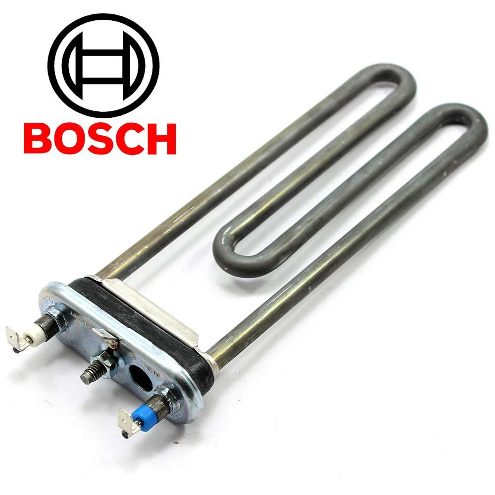 Тэн для стиральной машины Bosch 2000W L=200 мм (с отверстием и предохранителем)