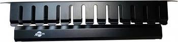 """Организатор кабеля ATcom P0001 1U, 19"""", черный, металлический"""