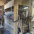 Горячий пресс бу для склеивания древесины и фанерования с усилием прессования 260т, фото 4
