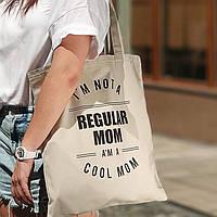 Эко сумка Regular mom (бежевая), фото 1