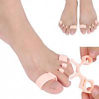 Корректор разделитель пальцев ног силиконовый, фото 1
