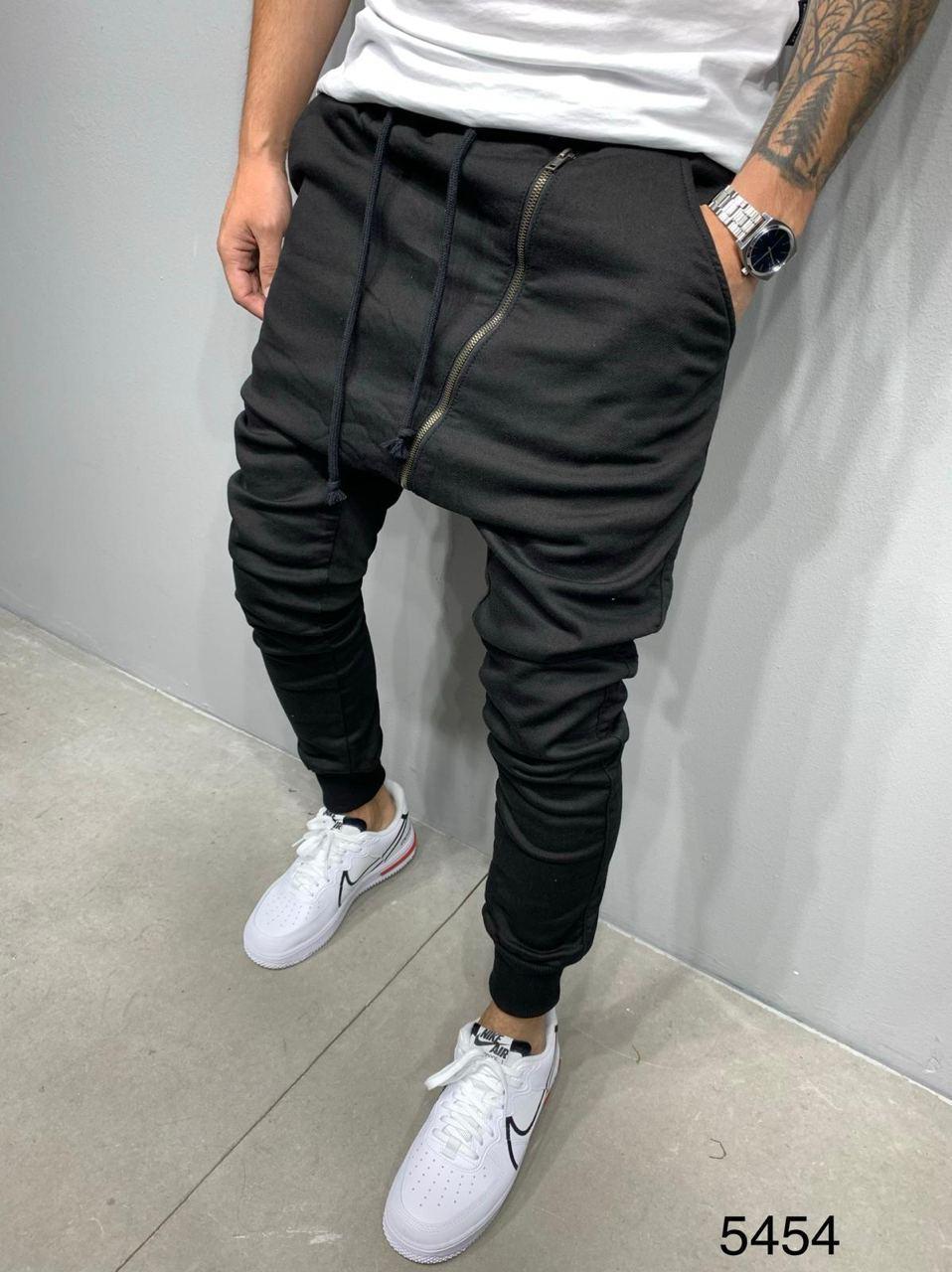 Мужские спортивные штаны 2Y Premium 5454 black