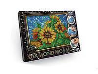 "Алмазная живопись ""DIAMOND MOSAIC"", ""Подсолнух"" Dankotoys (DM-02-02)"