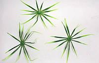 """""""Паутина""""1уп=50шт, искусственные листья пальмы  19см пластик, фото 1"""