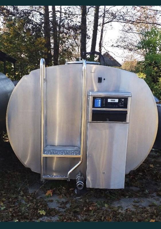 Охладитель молока DeLaval DXCE 7300L б/у без агрегата