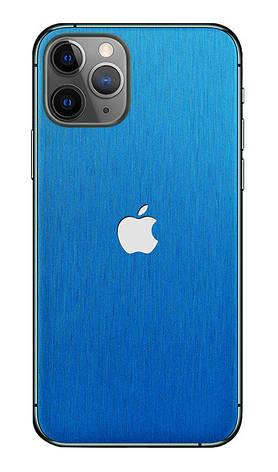 Універсальна плівка на задню панель для смартфона З.PROтект Металік Синій (730826), фото 2