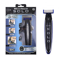 Триммер бритва машинка для стрижки micro Touch Solo соло 3в1 бороды и усов волос бритья лица тела мужской носа