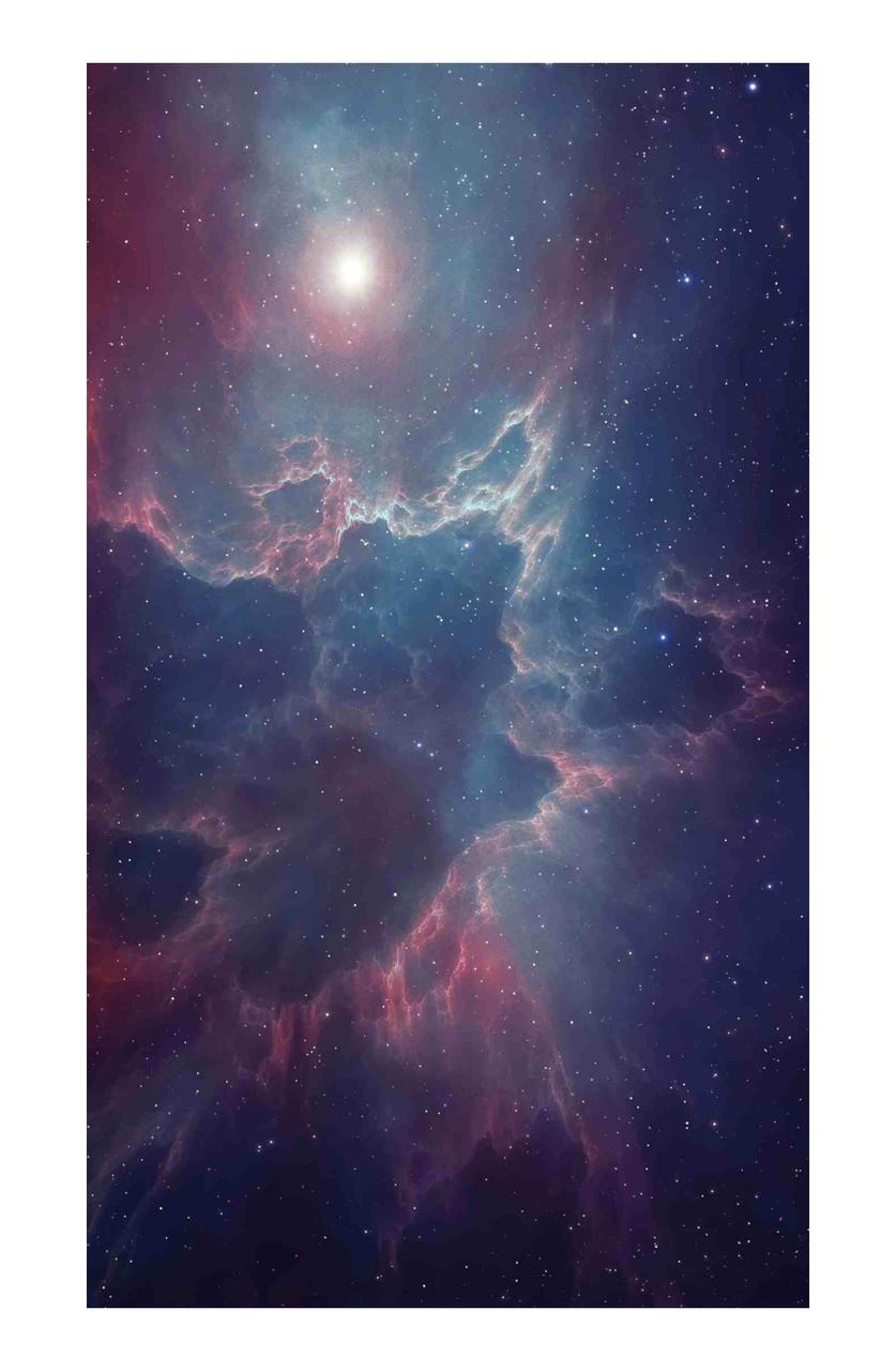 Универсальная пленка на заднюю панель для смартфона Rock Space Космическое пространство (947010)