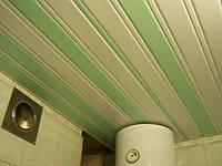 Потолки подвесные реечные
