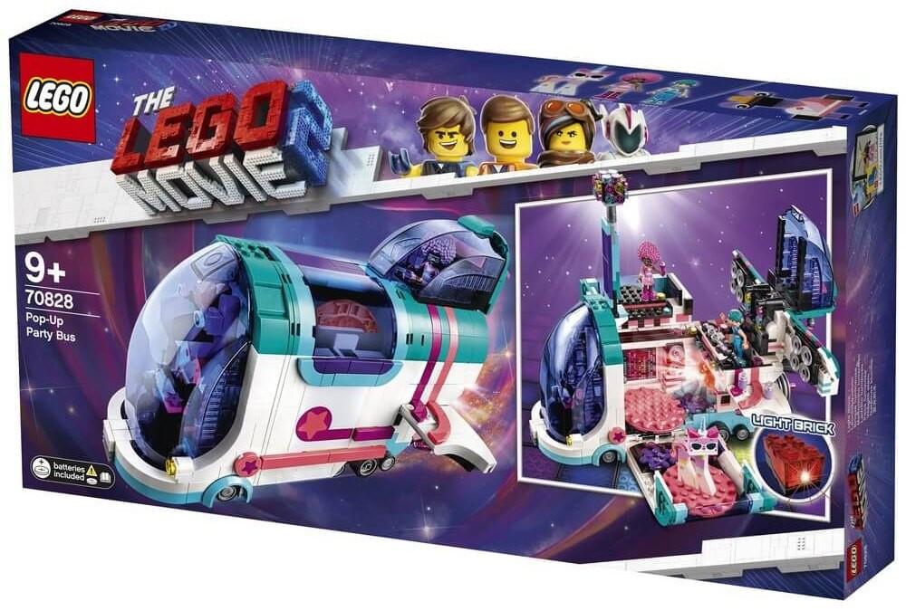 Lego Movie 2 Автобус  для вечірки Pop-Up Party Bus Автобус для вечеринки 70828