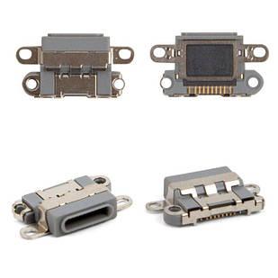 Коннектор зарядки iPhone 6S Plus Lightning, черный