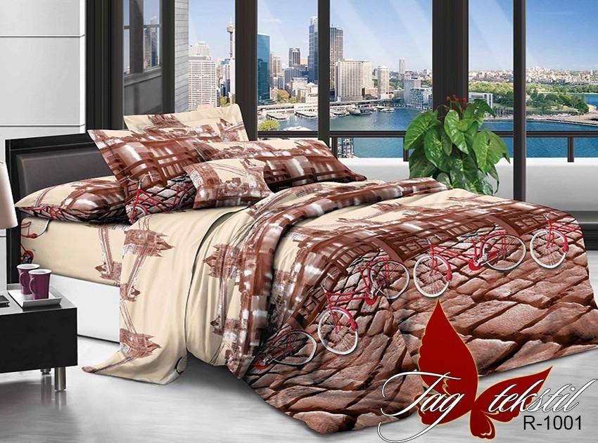 Двуспальный комплект постельного белья - ранфорс R1001