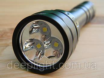 Яркий и мощный фонарь для дайвинга и подводный охоты Sofirn DF30 Cree XPL-HI