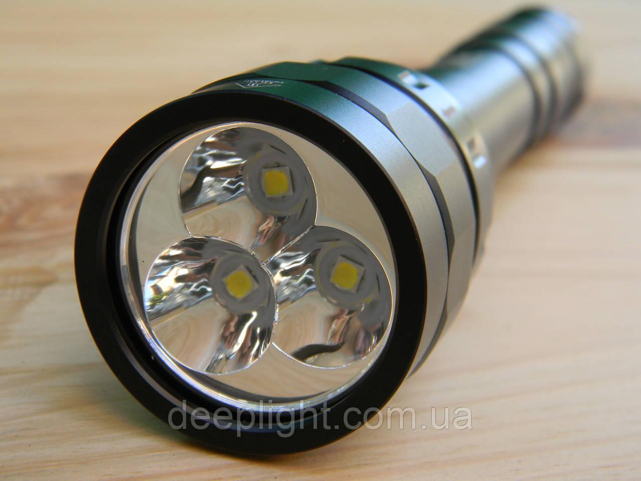 Яскравий і потужний ліхтар для дайвінгу та підводного полювання Sofirn DF30 Cree XPL-HI