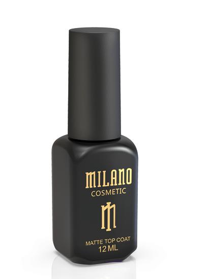 Milano top matte (матовый топ), 12 мл