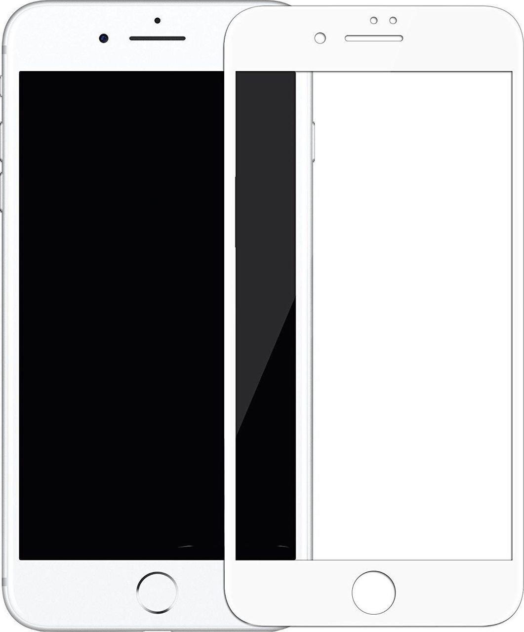 Защитное стекло Mocoll 3D Full Cover 0.3mm Privacy Tempered Glass Apple iPhone 7/8/SE 2020 White #I/S