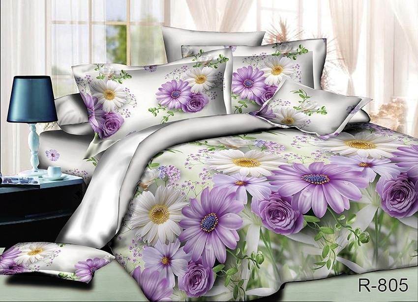 Евро комплект постельного белья - ранфорс R805