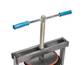 Ручной пресс для сока Вилен на 15 литров , нержавеющая сталь, фото 2