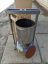 Ручной пресс для сока Вилен на 25 литров , нержавеющая сталь, фото 3