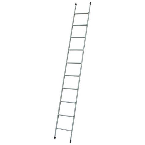 Лестница приставная металлическая 10 ступеней h=2980 мм 150 кг ГОСПОДАР 79-1000, фото 2