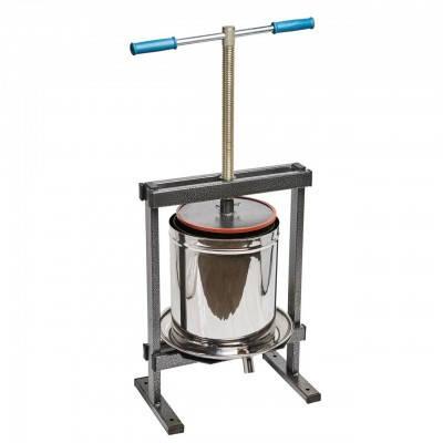Ручной пресс для сока Вилен на 20 литров , нержавеющая сталь, фото 2