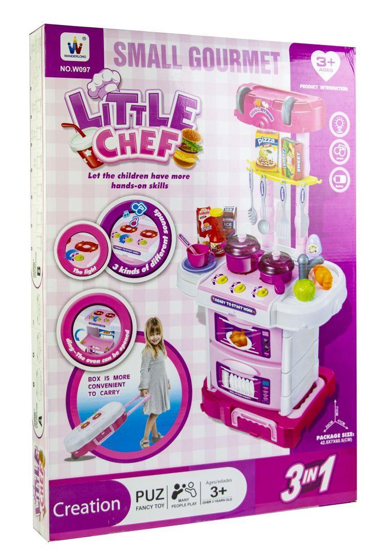 Кухня игрушечная Little Cheef (Маленький Шеф) со светом и звуком