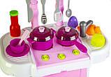 Кухня игрушечная Little Cheef (Маленький Шеф) со светом и звуком, фото 4