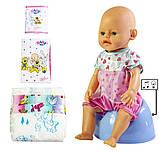 Кукла Baby Born (Бейби Борн) с аксессуарами, музыкальный горшок (К148), фото 3