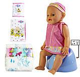 Кукла Baby Born (Бейби Борн) с аксессуарами, музыкальный горшок (К155), фото 3