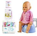Кукла Baby Born (Бейби Борн) с аксессуарами, музыкальный горшок (В147), фото 2