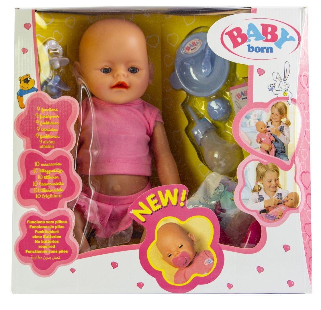 Кукла Baby Born (Бейби Борн) с аксессуарами (U177)