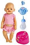 Кукла Baby Born (Бейби Борн) с аксессуарами (U177), фото 2