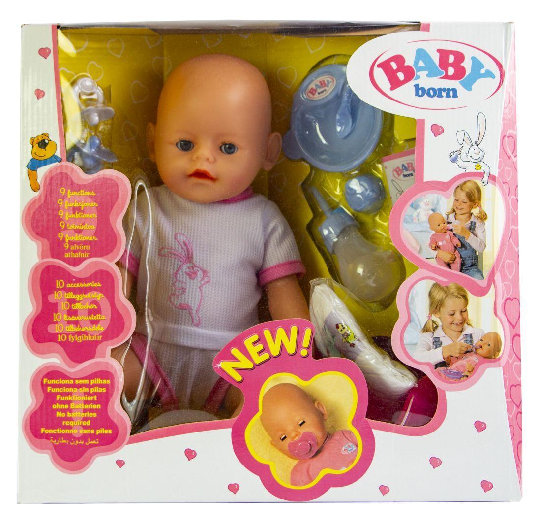 Кукла Baby Born (Бейби Борн) с аксессуарами (V442)