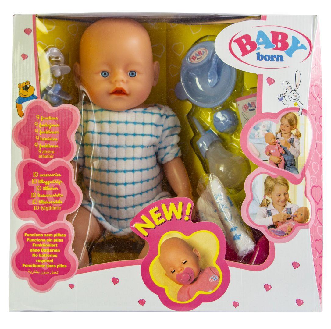 Кукла Baby Born (Бейби Борн) с аксессуарами (К163)