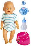 Кукла Baby Born (Бейби Борн) с аксессуарами (К163), фото 2