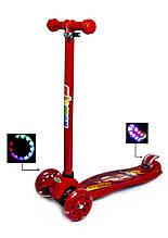 Самокат Maxi Scooter Disney. Тачки Молния МакКвин