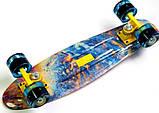 """Penny Board """"Acid"""" Светящиеся колеса, фото 4"""
