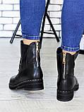 Ботинки Bruck черная кожа 6699-28, фото 2
