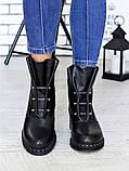 Ботинки Bruck черная кожа 6699-28, фото 5