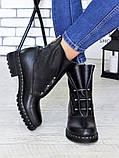 Ботинки Bruck черная кожа 6699-28, фото 6